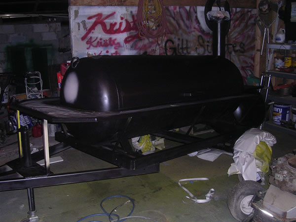 Jerry Smith's Steelers Smoker