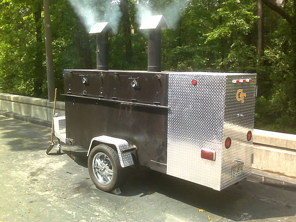 BBQ Smoker and Beer Keg